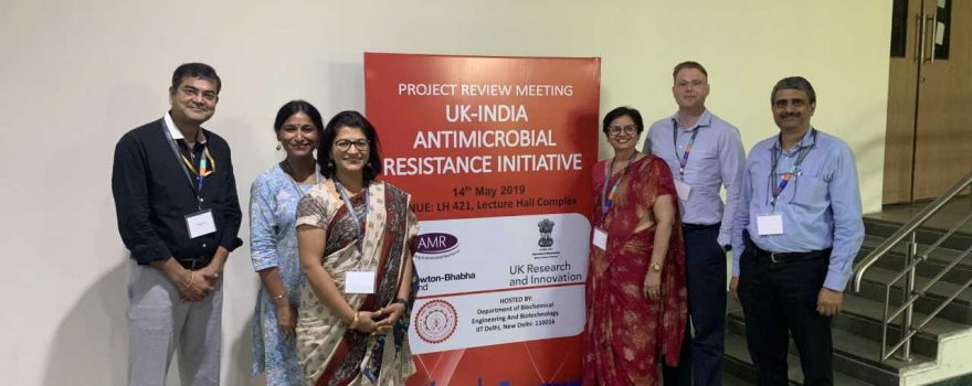 Project Review Meeting - UK-India Antimicrobial Resistance Initiative