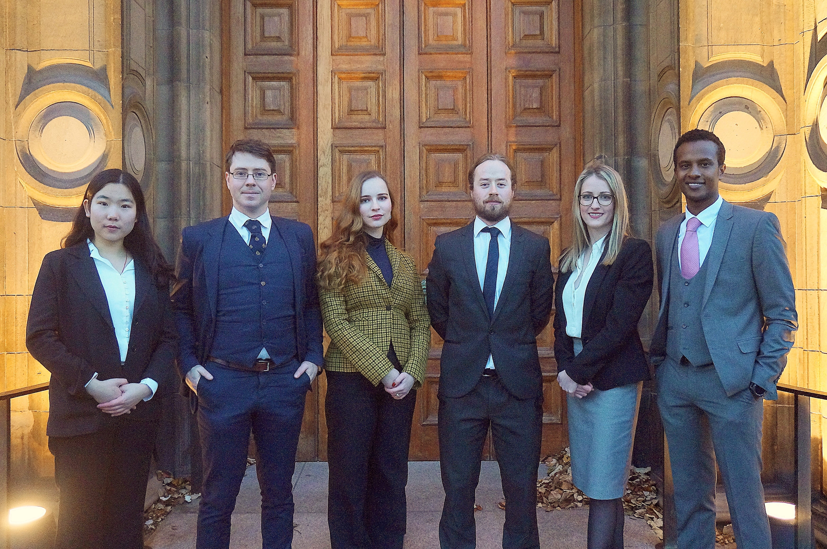 University of Edinburgh Vis Moot Team 2018 - 2019