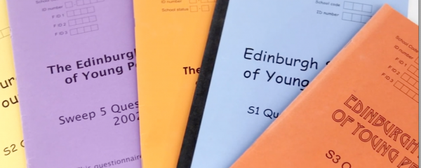 Images of the Edinburgh Study questionnaire