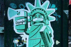 Covid-19 Statue of Liberty