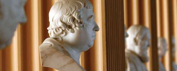 Busts in Playfair Library